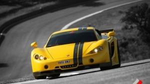 ascari GT yellow