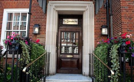 Le Gavroche restaurant, Mayfair, London. Image shot 2011. Exact date unknown.